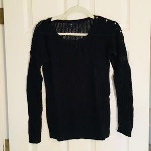 GAP | Black Knit Sweater